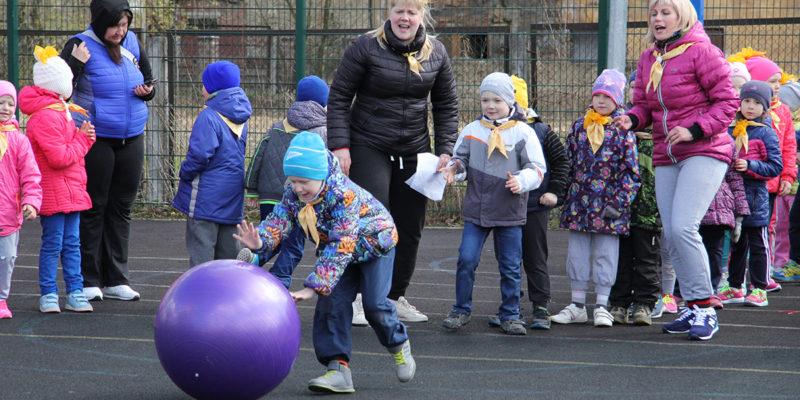 спартакиада детских садов в Никольском