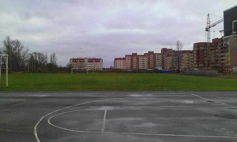 стадион в Никольском
