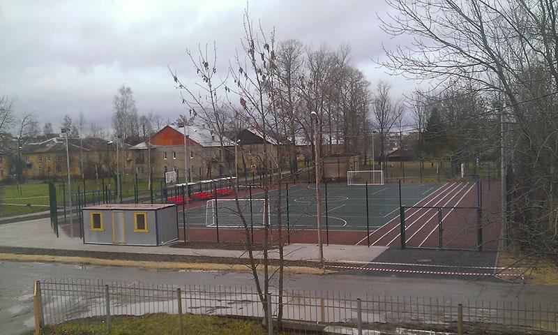 спортивная площадка в Никольском